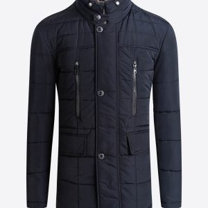 Bugatchi Quilted Jacket, Navy