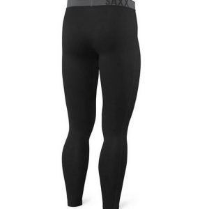 Saxx Blacksheep Long Underwear, Black
