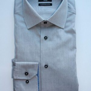 Leo Chevalier Adjusted Fit Shirt, Silver Grey